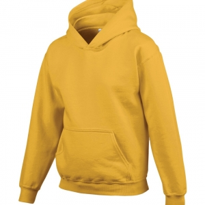 GILDAN HEAVY BLEND HOODED YOUTH SWEATSHIRT. 185B